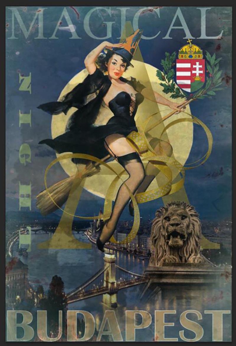 装饰画复古经典旅游纪念品海报外销外贸景点海报