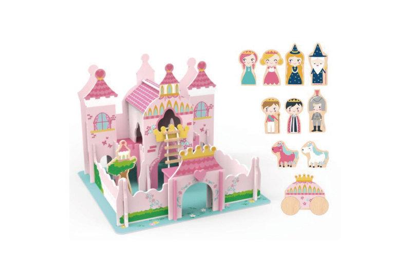 公主和王子玩具城堡