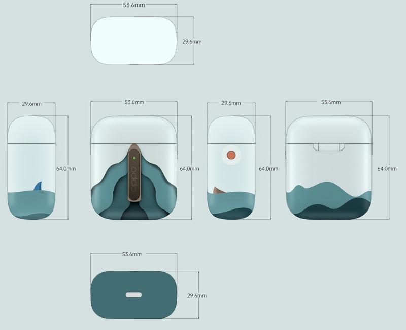 OPPO Enco Free 蓝牙耳机外观设计