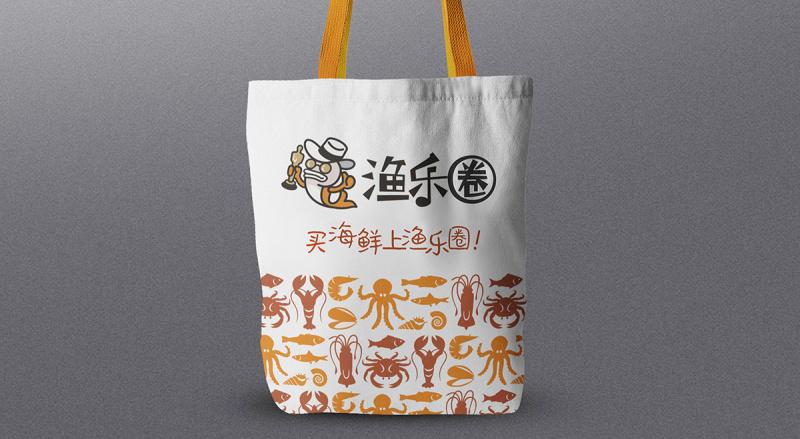 量贩海鲜餐饮品牌包装设计