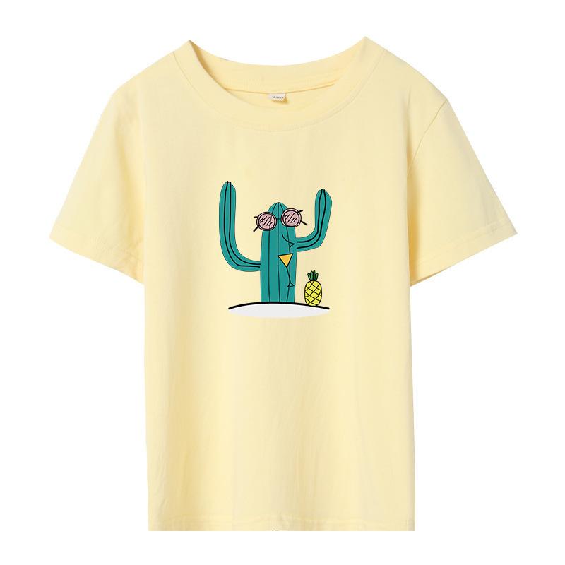 小童女韩版百变印花T-shirt