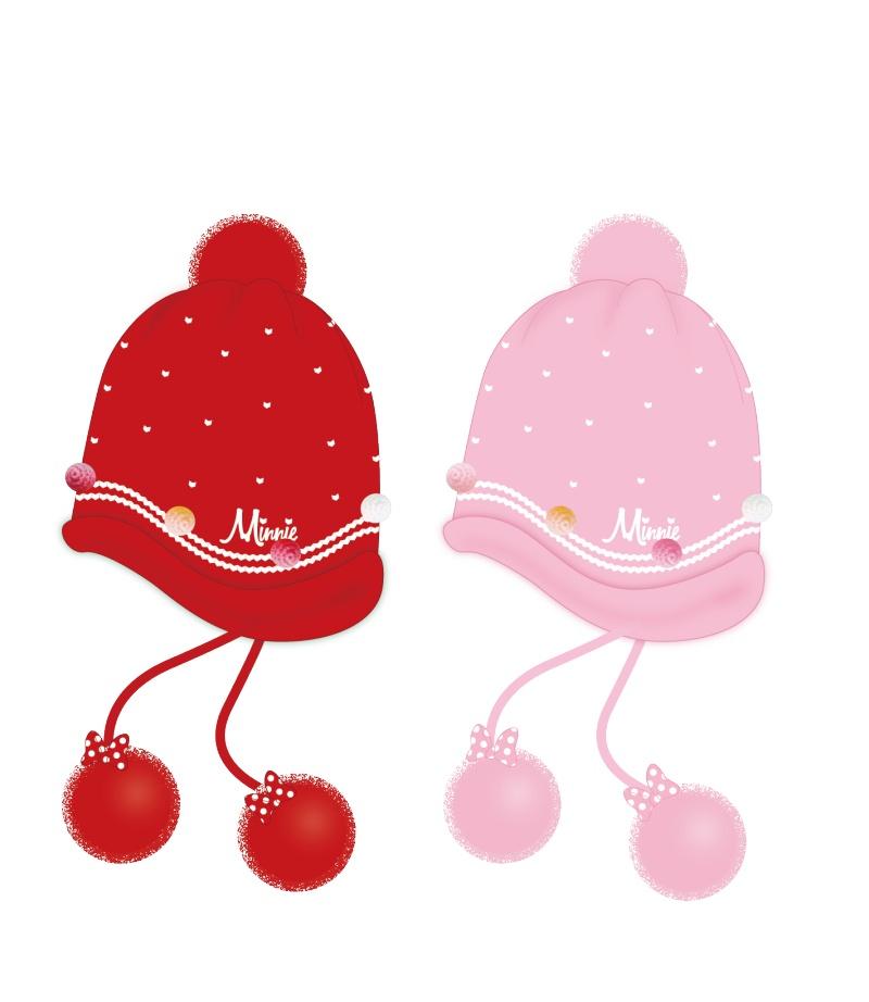 女童冬季毛线帽