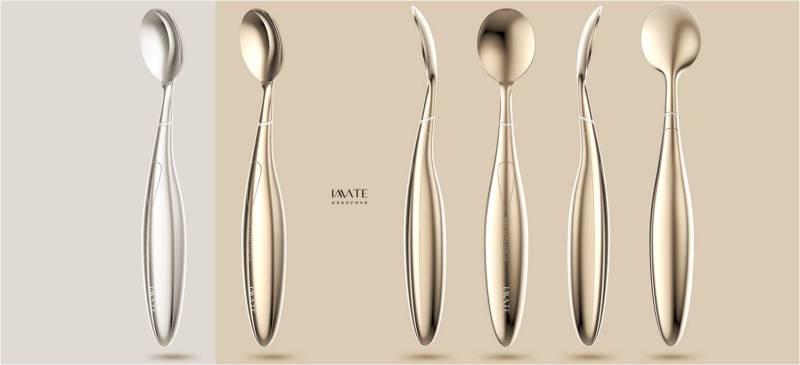 冷热冰敷美容勺设计