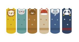 宝宝动物袜子