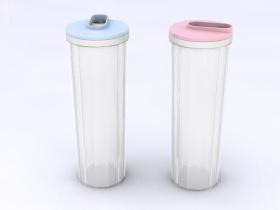 简约十二面体面条罐