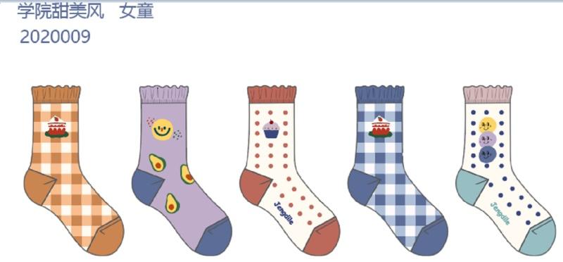 女童袜子设计