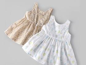 婴儿背心裙子夏季纯棉公主裙