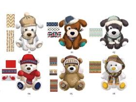 毛绒狗熊玩具