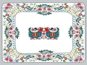陶瓷餐具方形盘