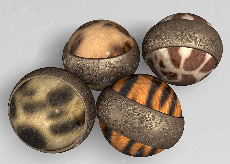 工艺陶瓷豹纹