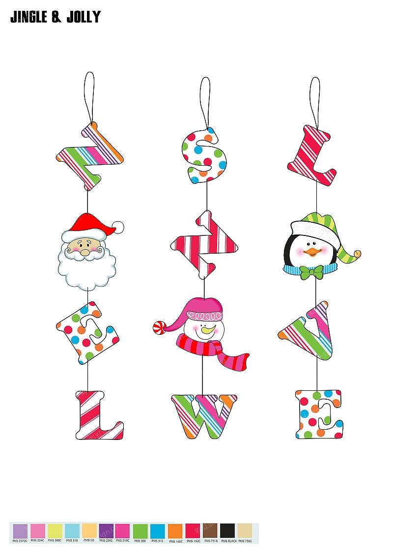 圣诞节吊件