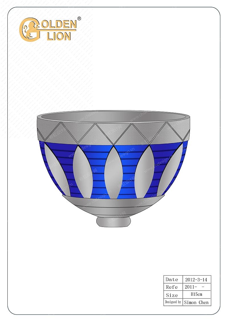 塑料奖杯碗