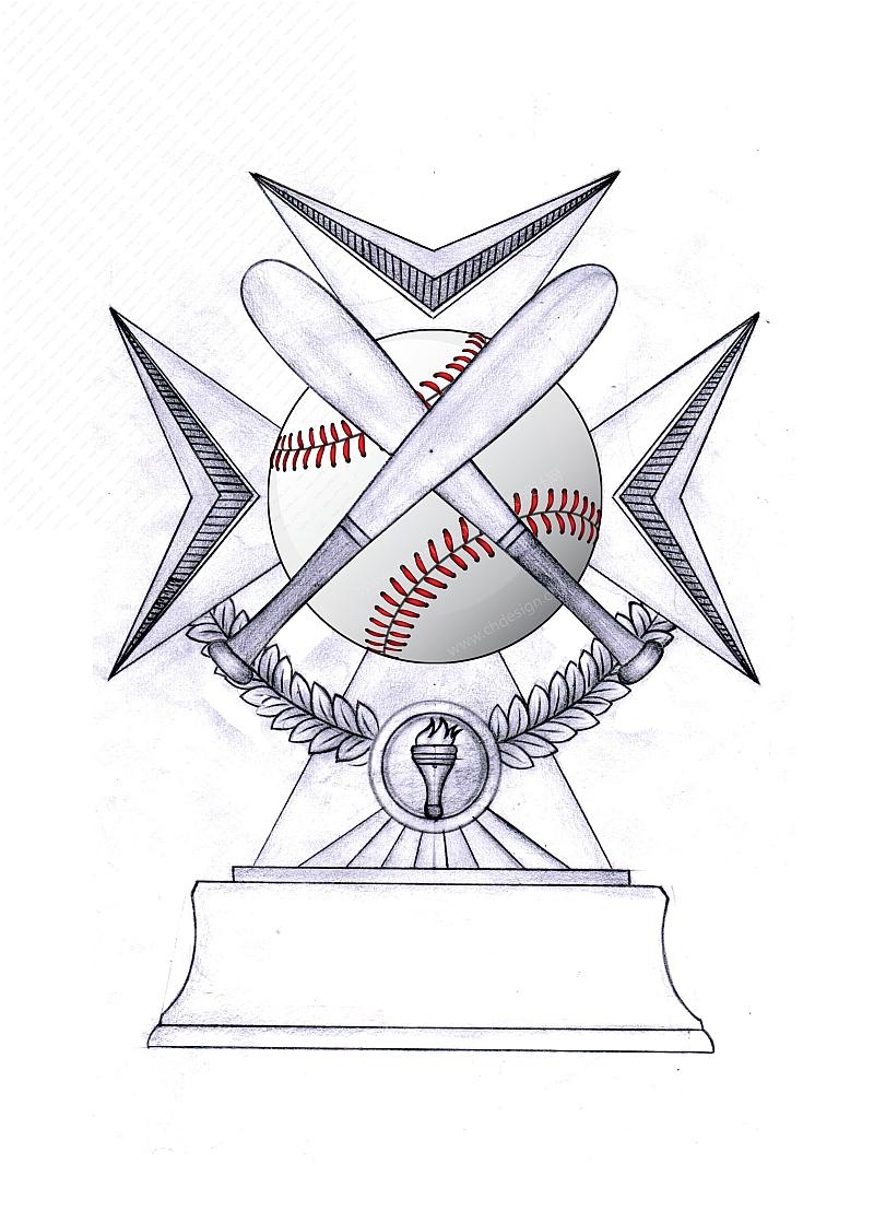 树脂棒球奖牌