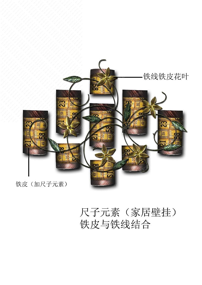 尺子元素(壁挂)