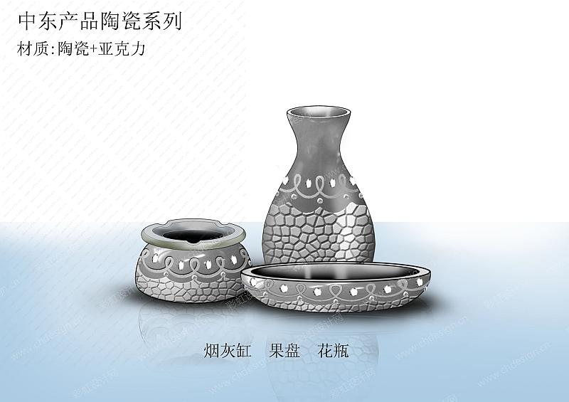 陶瓷三件套