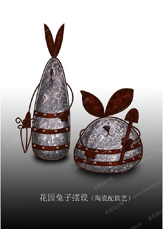 复活节兔子系列作品延伸共6张