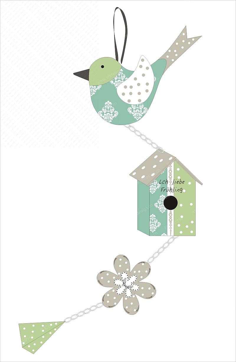 2013春季设计鸟屋吊饰