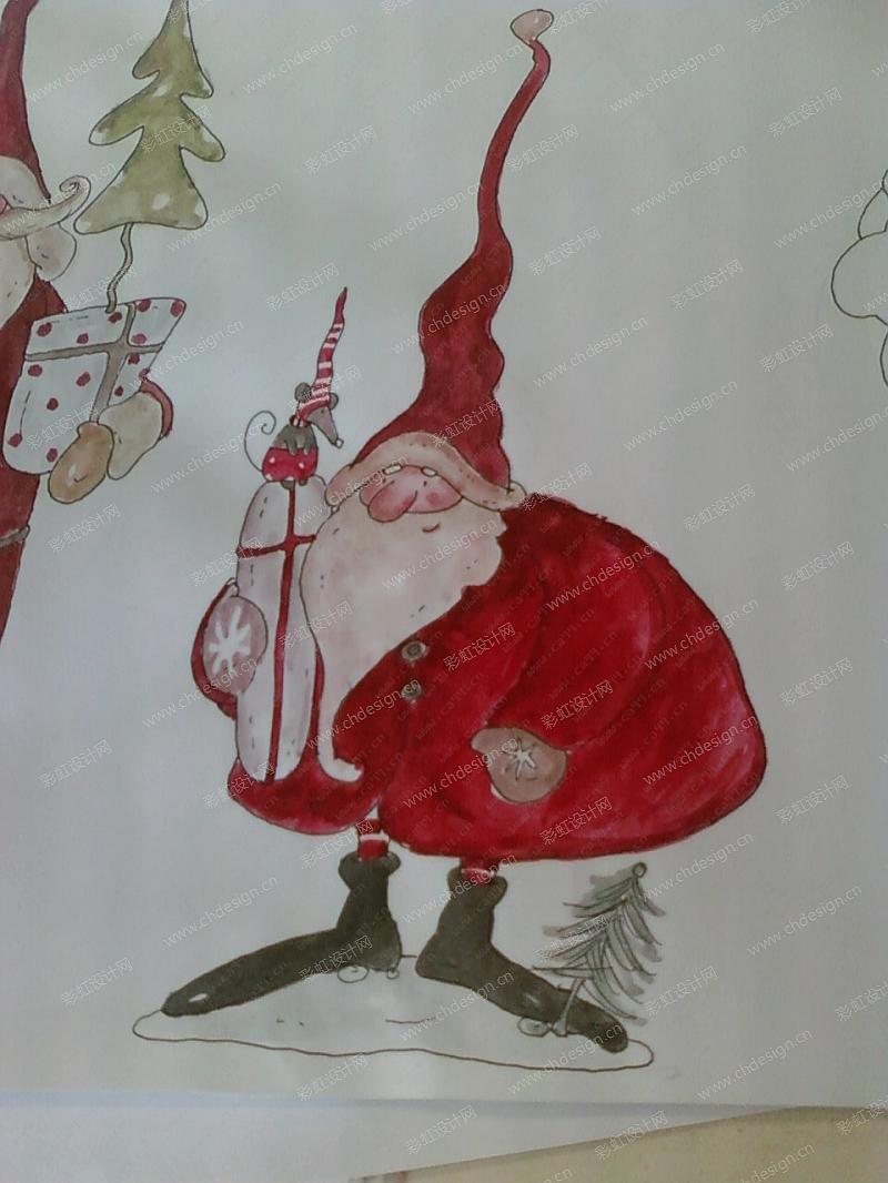 圣诞老人摆件