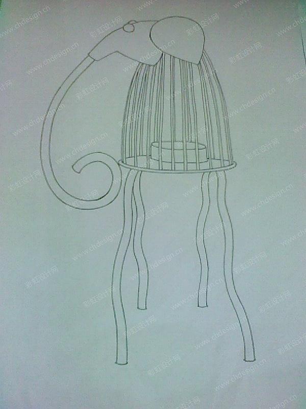 铁件大象T蜡