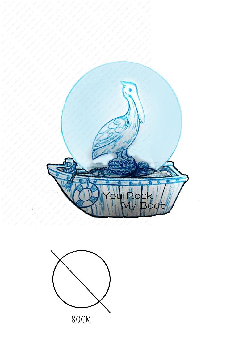 海洋鹈鹕水球