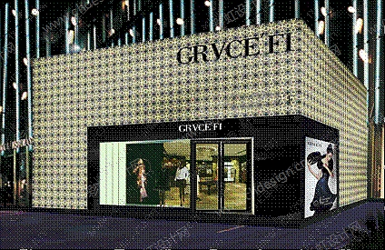 GRVICEF店面设计/终端空间设计/意尚国际