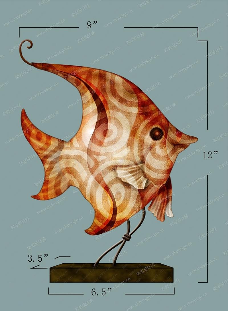 海洋系列鱼摆件