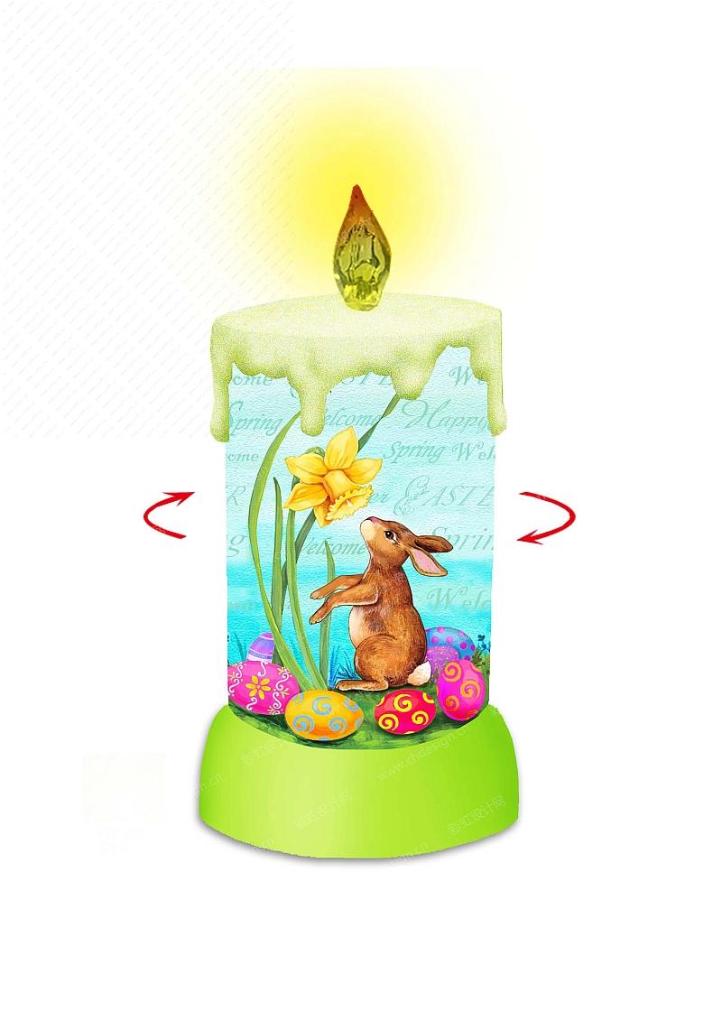 复活节LED灯