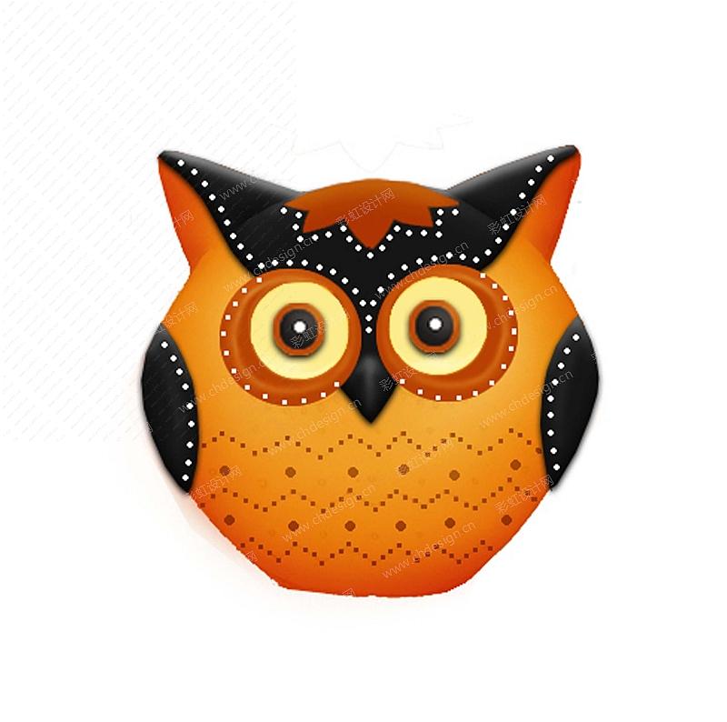 陶瓷-猫头鹰摆件