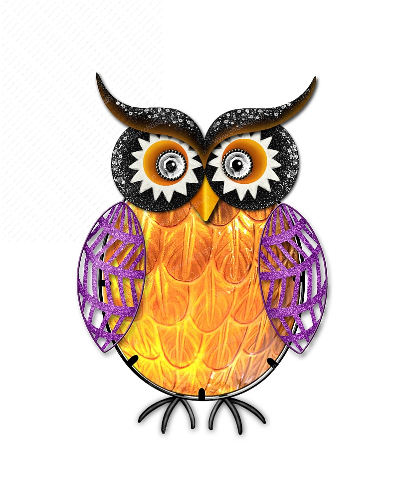鬼节-猫头鹰