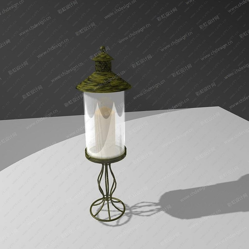 多材质烛台
