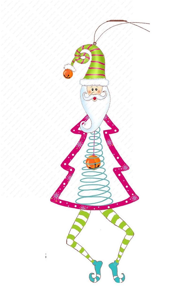 圣诞老人吊件