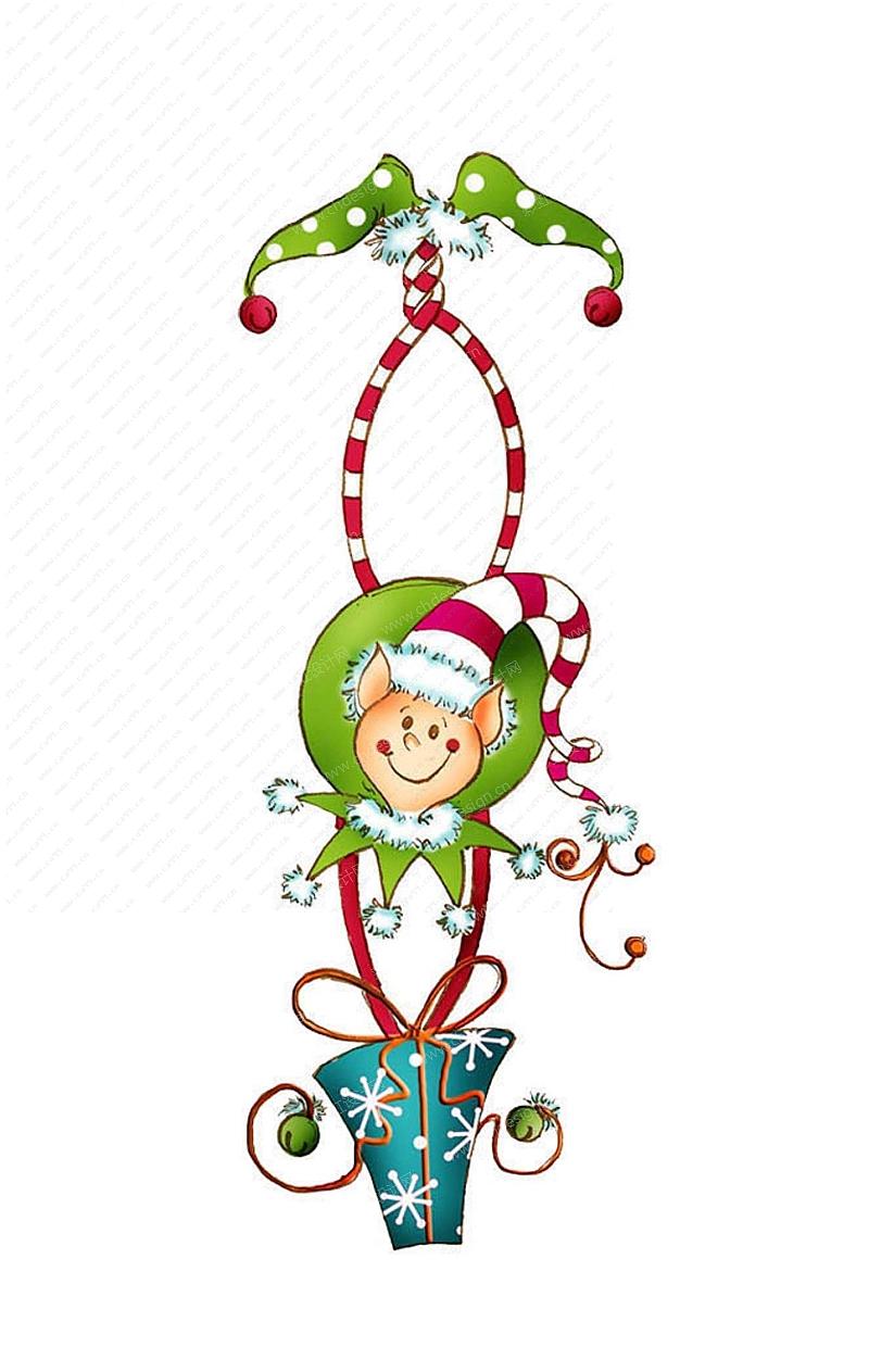 圣诞雪人吊件