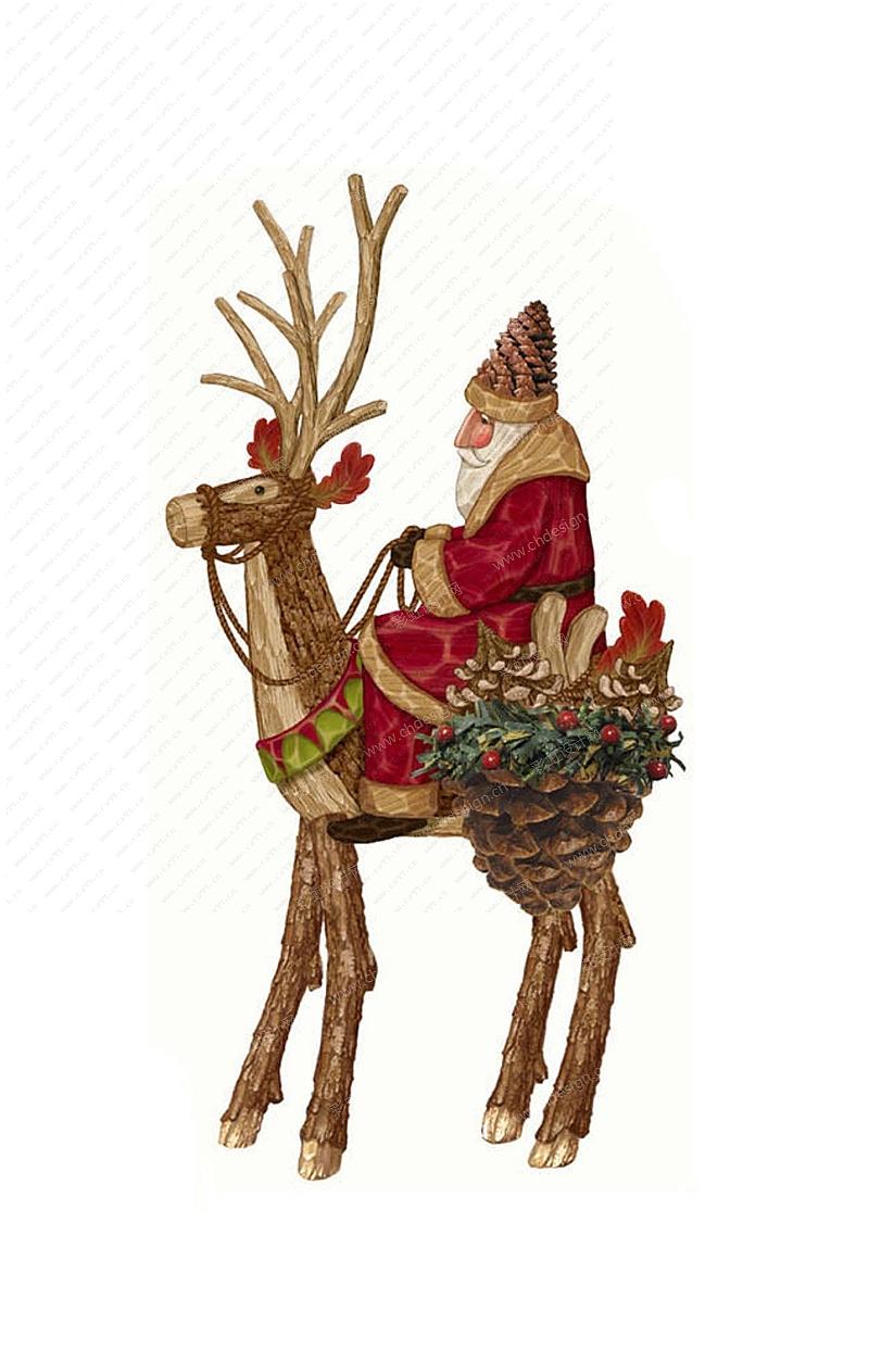圣诞节老人摆件