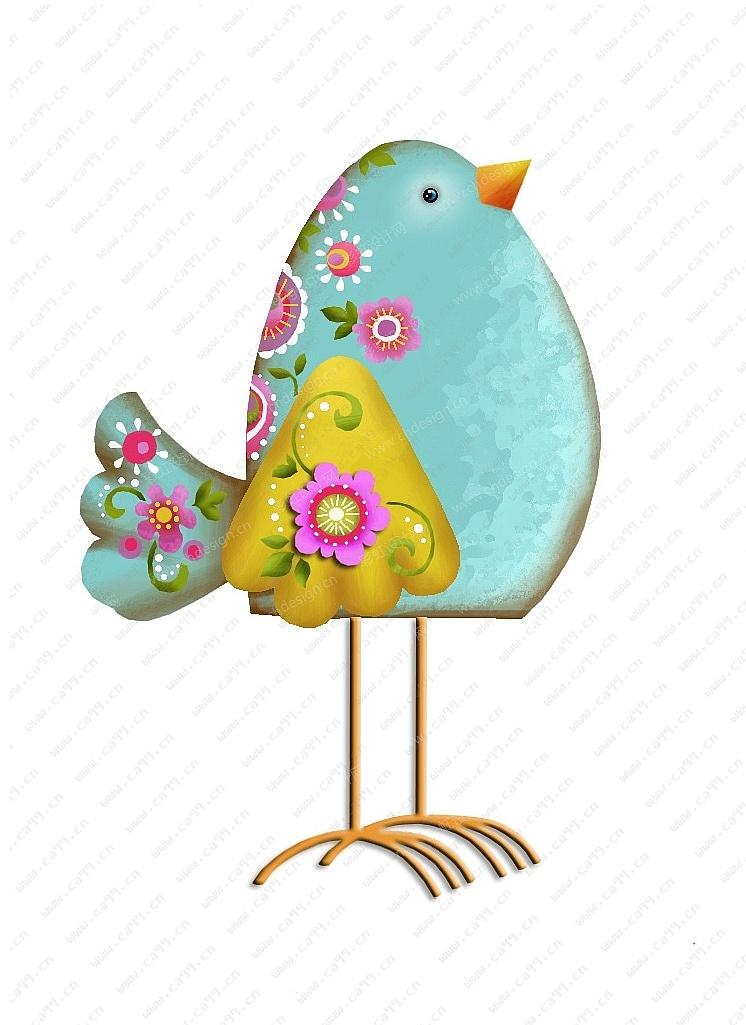 春天小鸟-摆件
