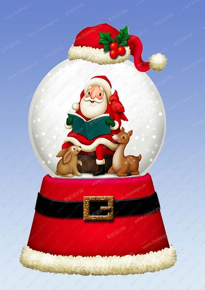 圣诞老公水球