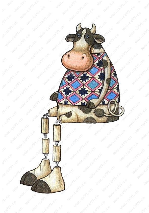 花园动物奶牛
