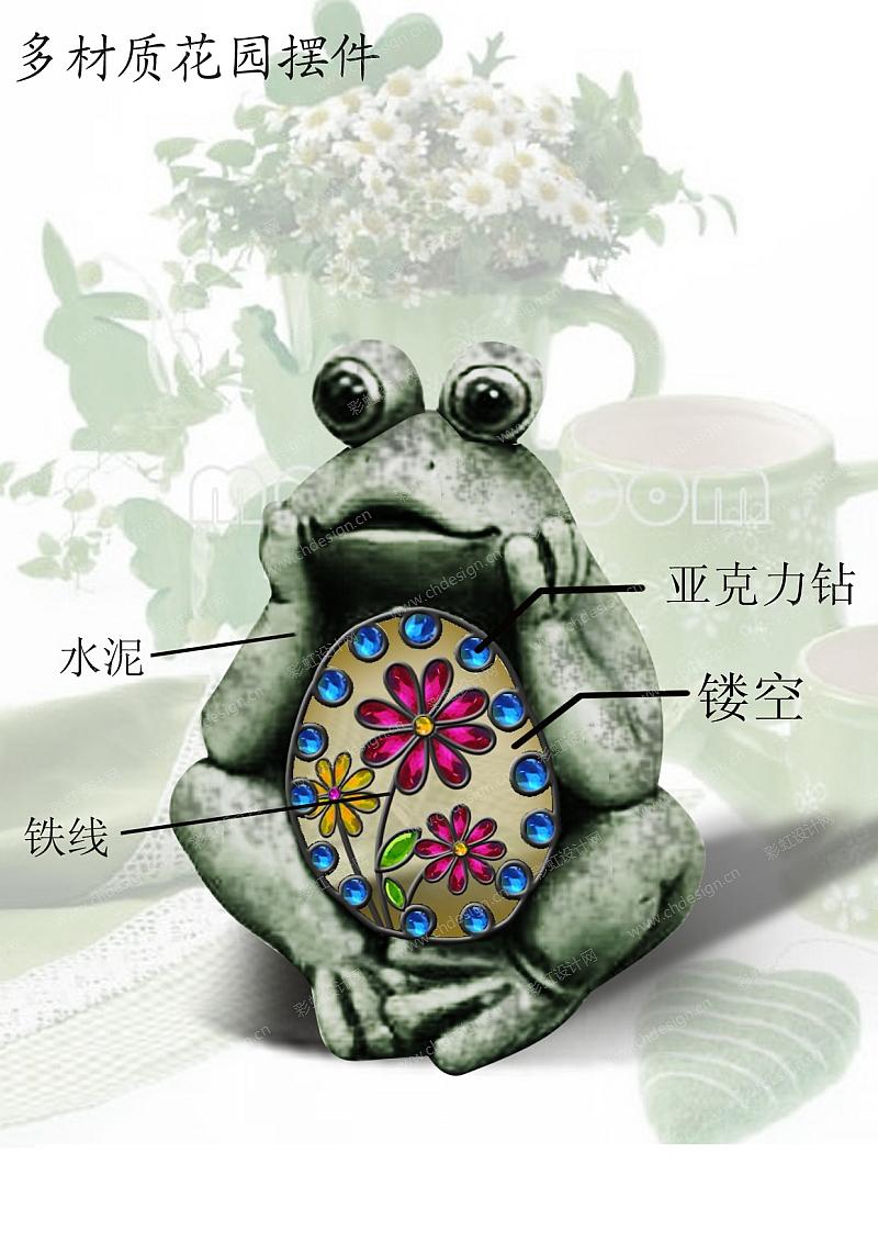 花园摆件青蛙