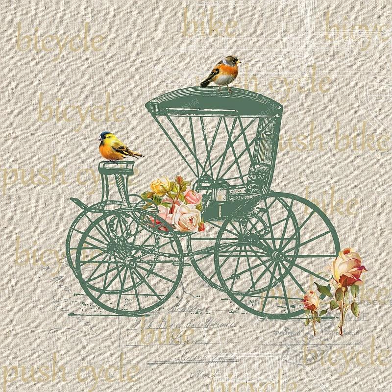 怀旧自行车