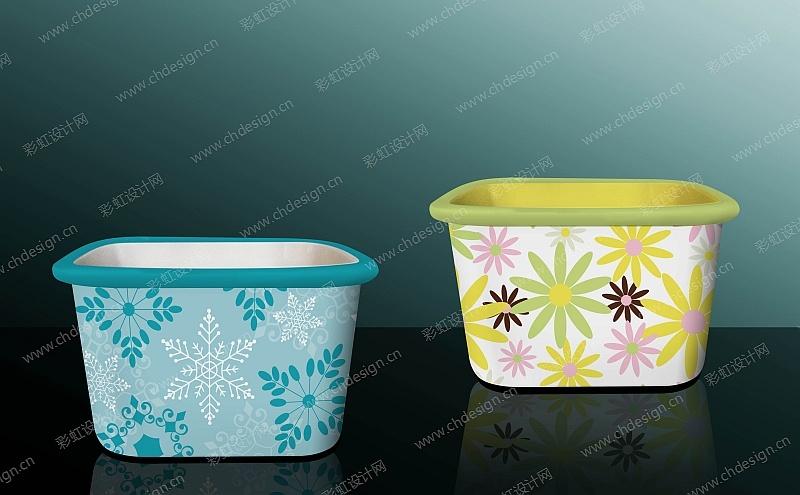 陶瓷储物罐效果图