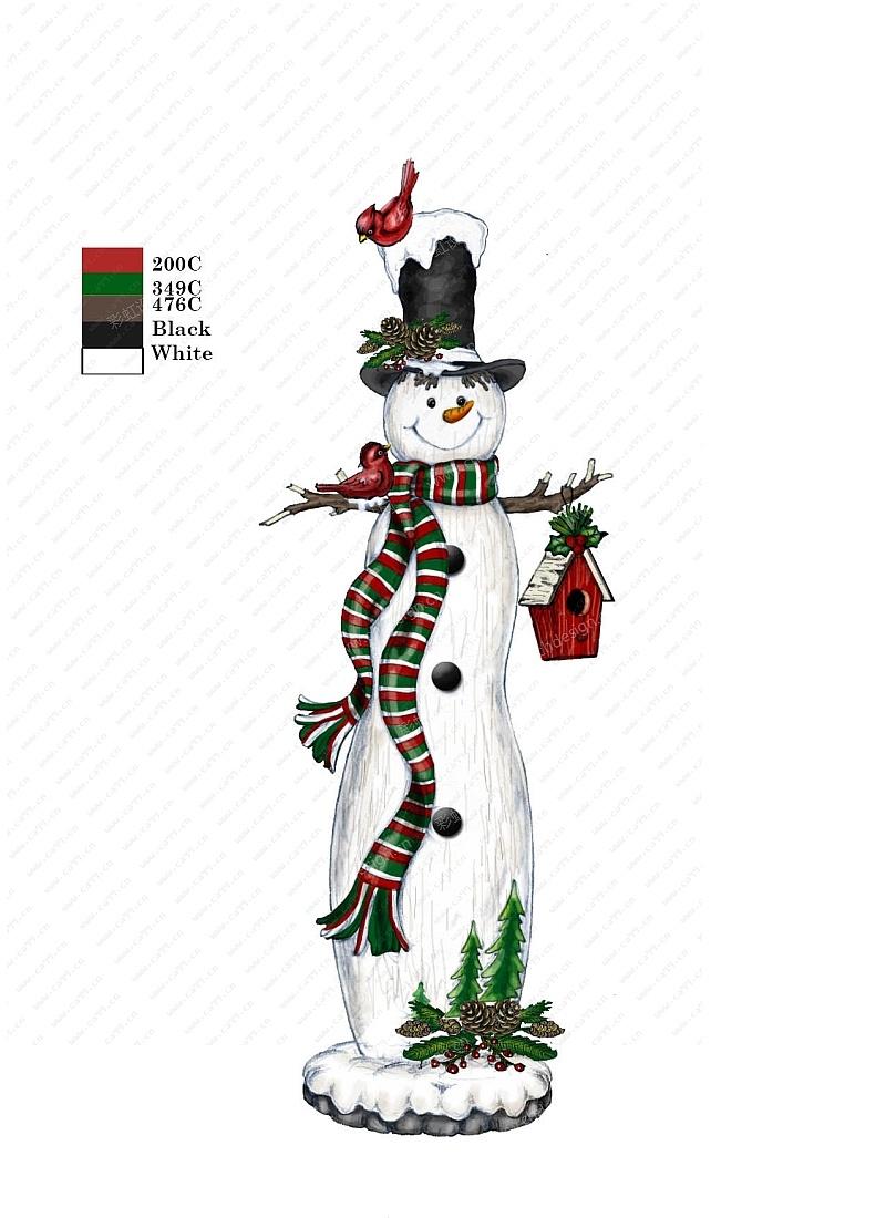 雪人圣诞礼品