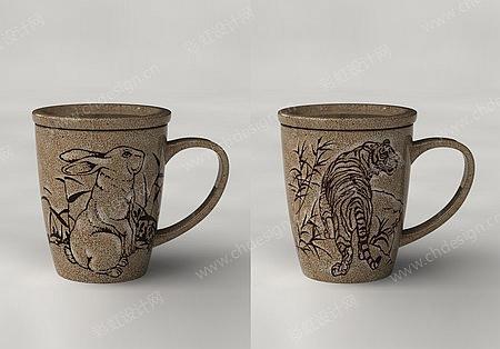 陶瓷设计杯子