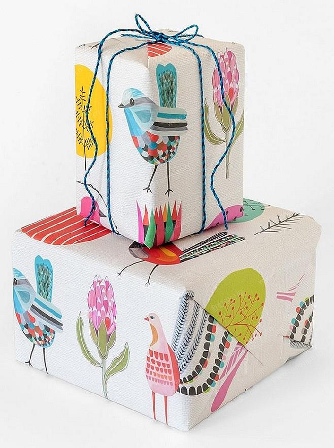 卡通小鸟图案包装设计