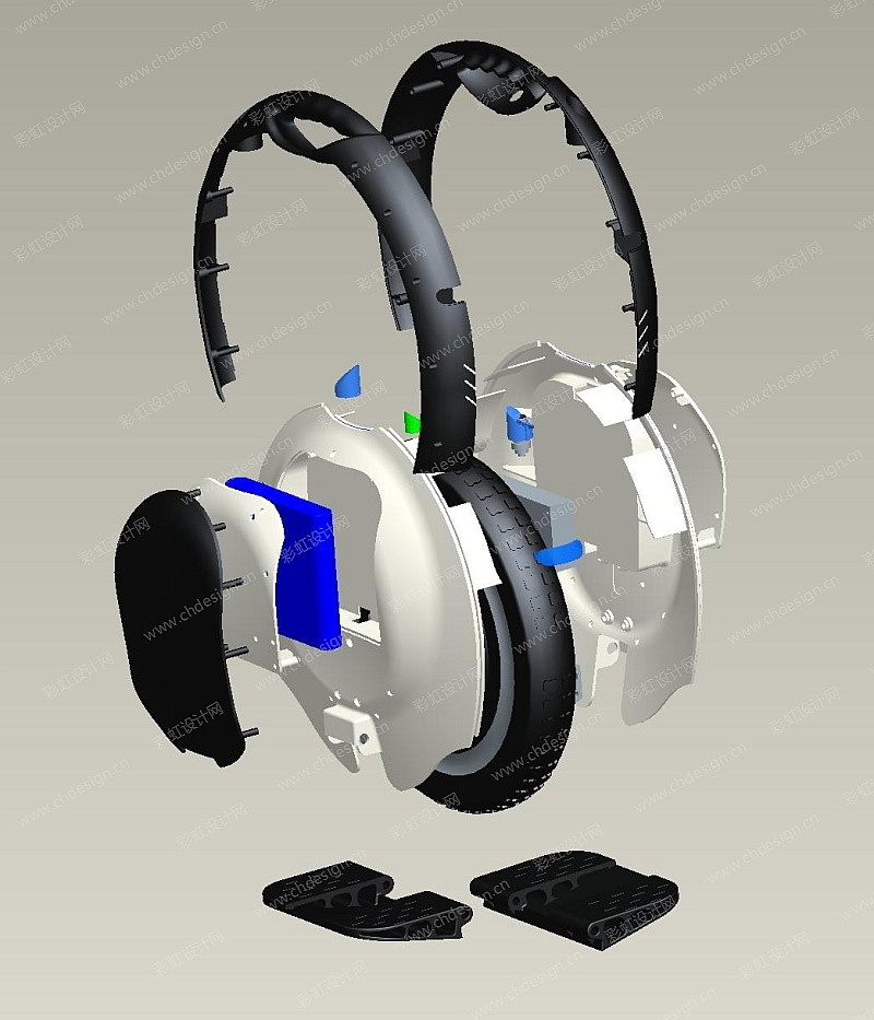 自平衡独轮电动车——设计开发