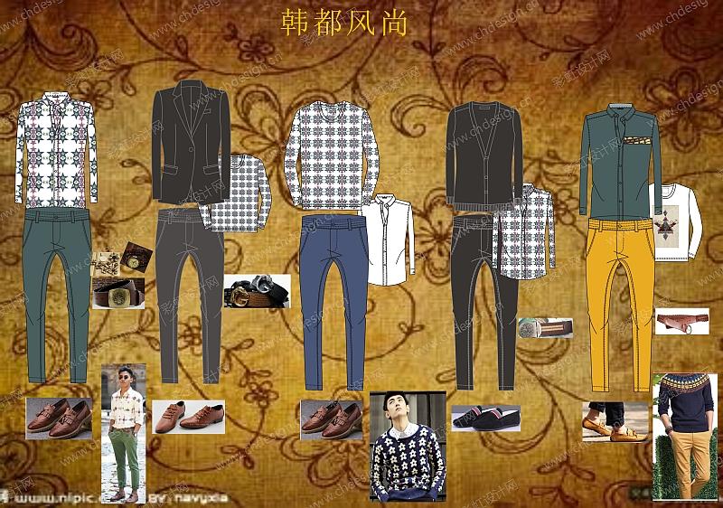 服装品牌企划案,设计图,成衣图