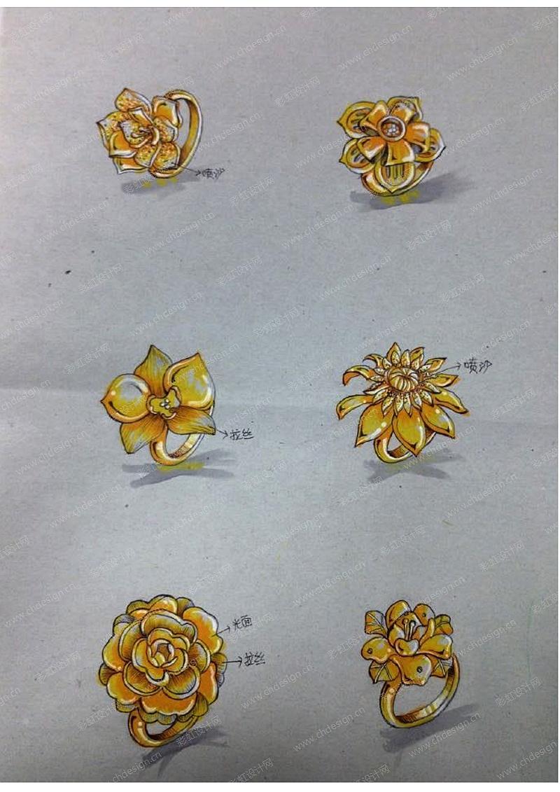 黄金首饰设计