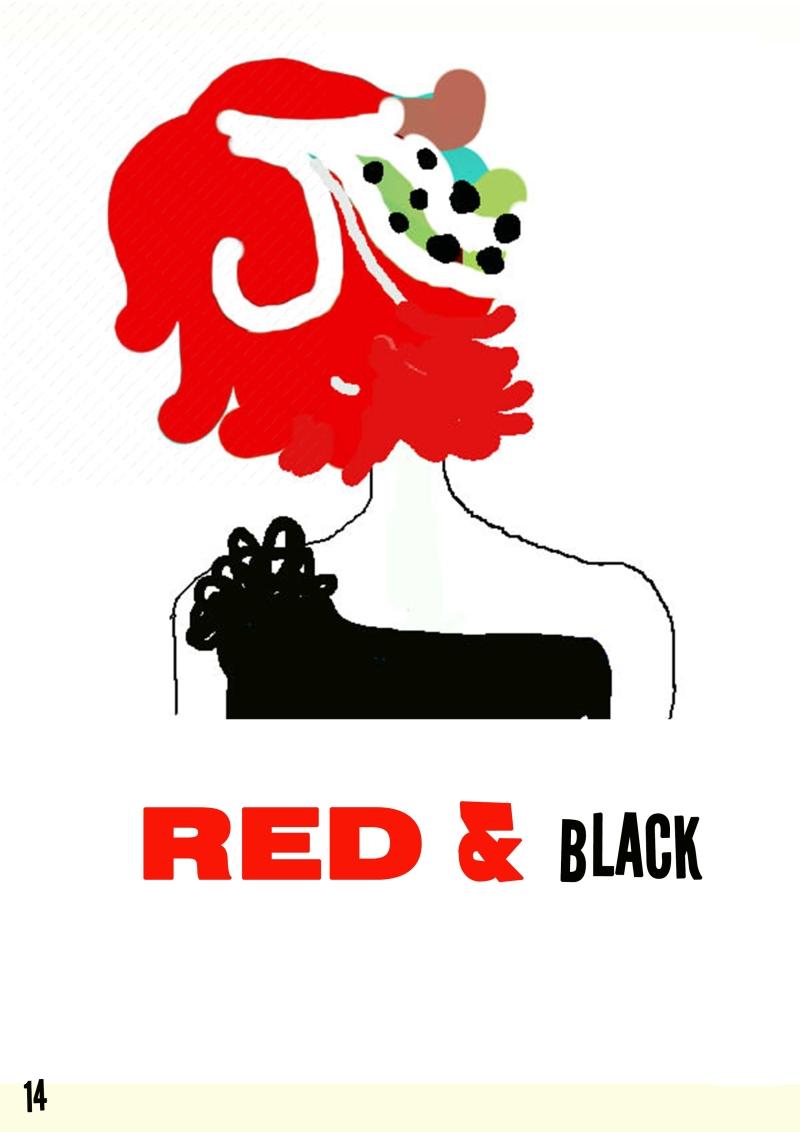 红发女子的背影ED&BLACK