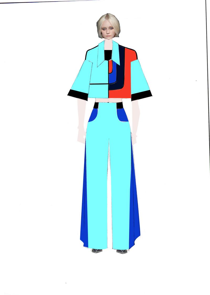 服装专业毕业设计稿子/创意春夏女装