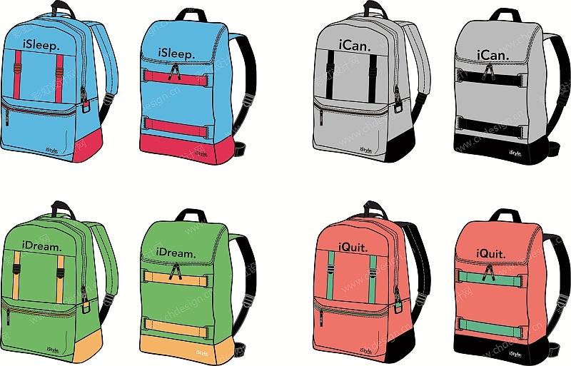 运动休闲箱包背包