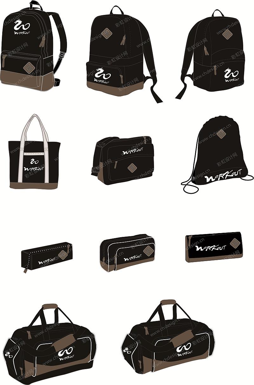 运动休闲背包