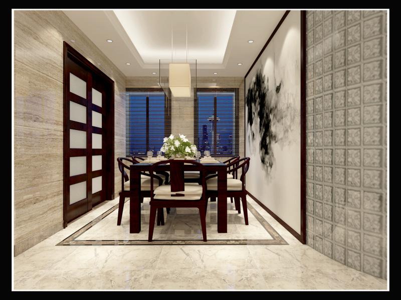 家装中式效果图